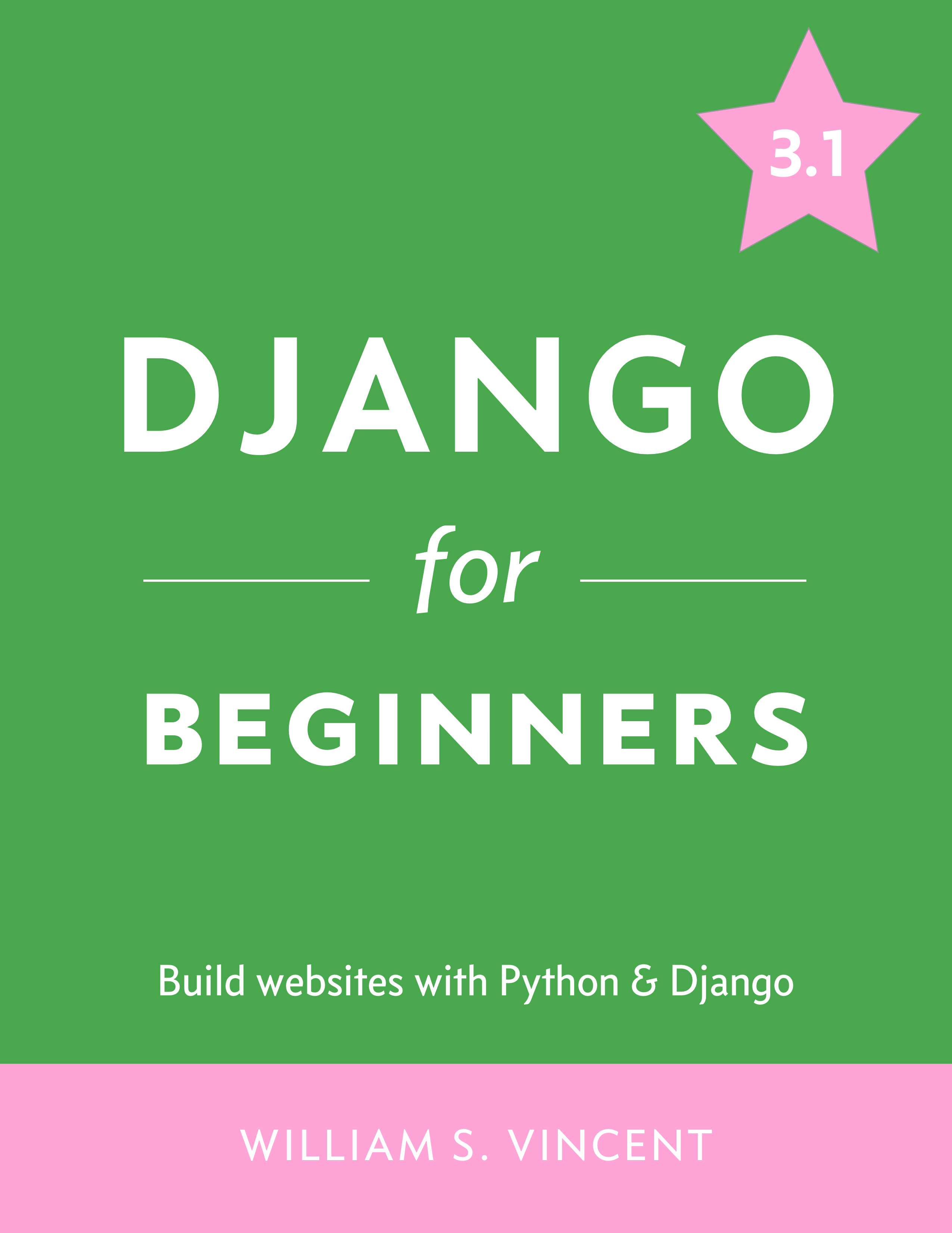 Django for Beginners cover