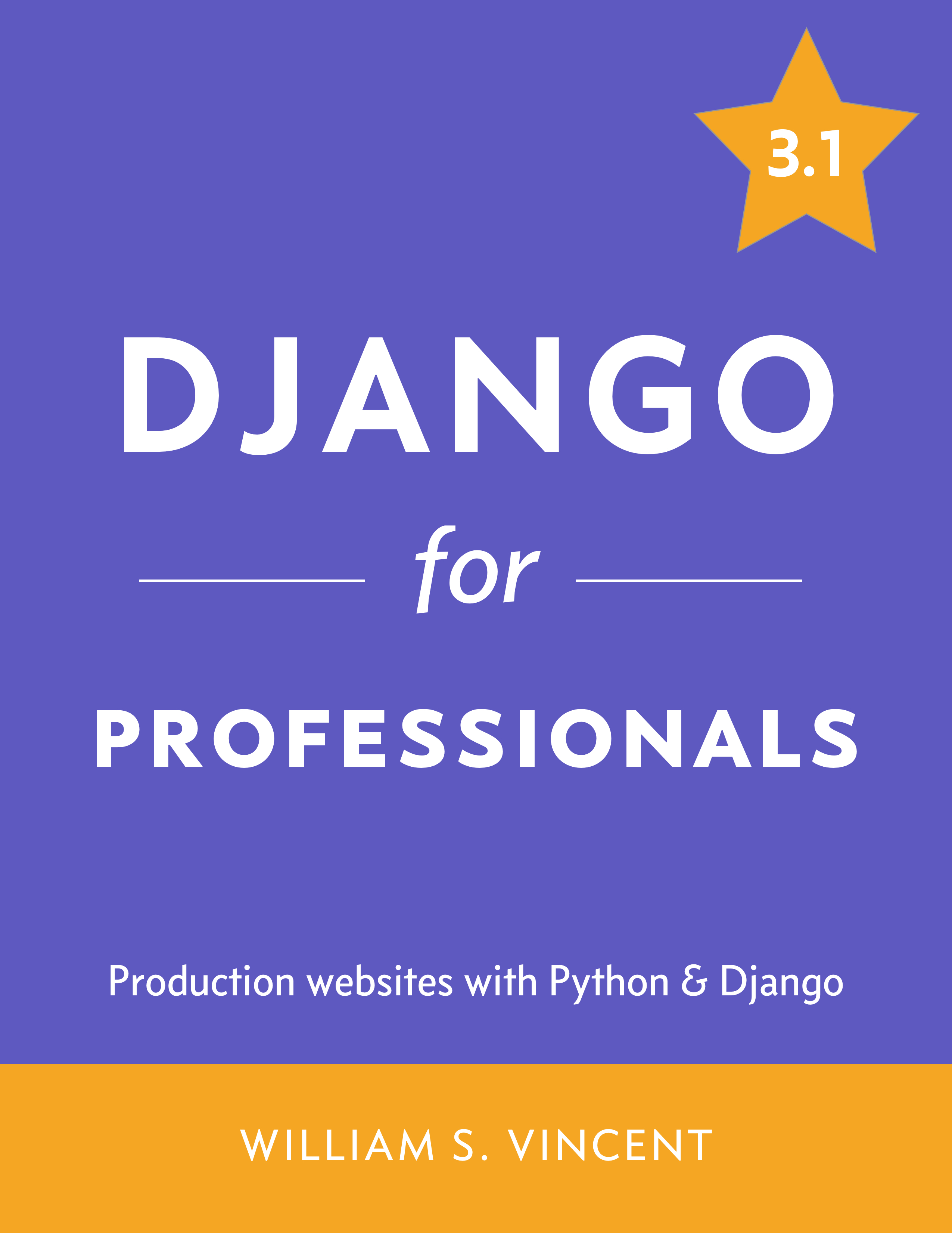 Django for Professionals cover